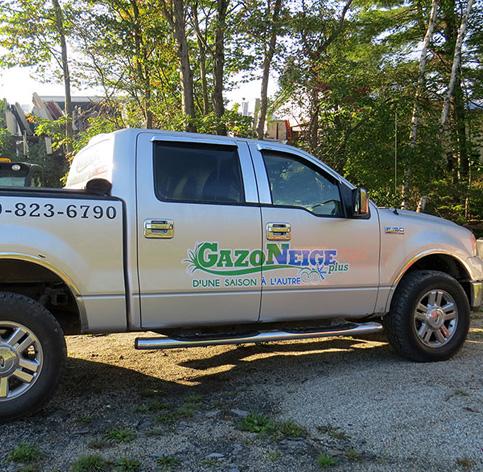 Enseignes Sherbrooke - Lettrage de véhicule